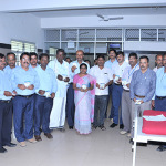 Shimul Celebrated World milk day in Meggan Hospital Shimoga