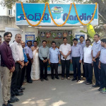 Inauguration of Nandini Milk